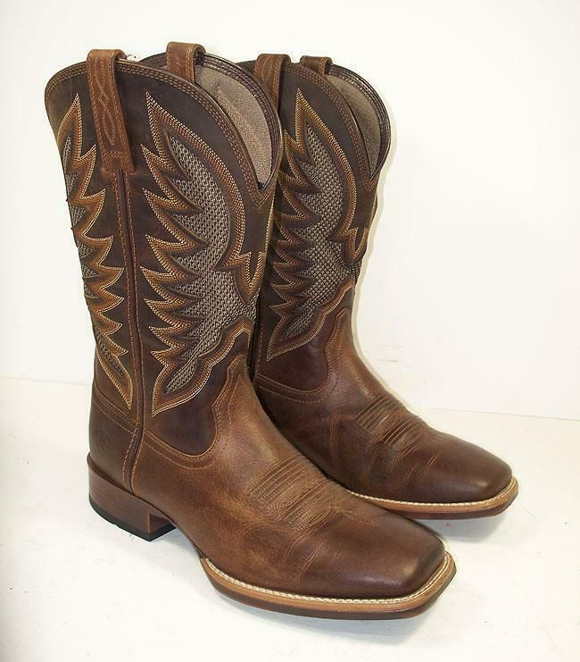 211b446e979 eBay Sponsored) Men's Ariat 23129 VentTEK Ultra Quickdraw Square Toe ...