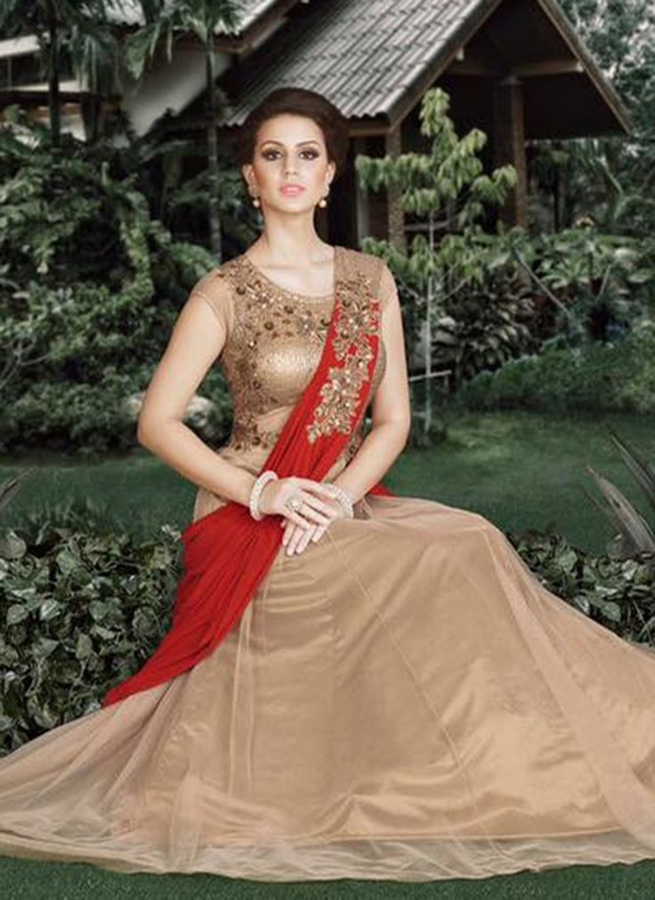 Buy Staring Embroidered Work Designer Gown #gown #ethnicgown #anarkaligown #weddinggown