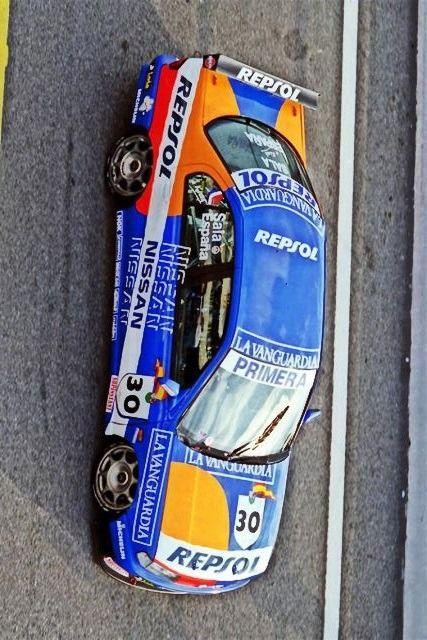 ——- Nissan Primera Super Touring Ex Sala ——-  — Nissan Primera Super Touring (ex F1 Driver - Luis Perez-Sala - CET Supertourismo ´95 ) Built by Janspeed Nissan Motorsport Europe —