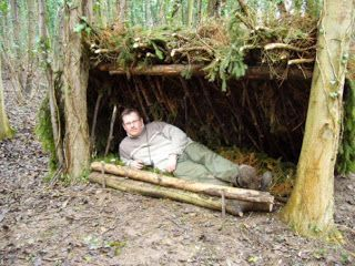 Lean-to shelter: There are many adaptations for the lean-to shelter, depending on the circumstances and materials available.