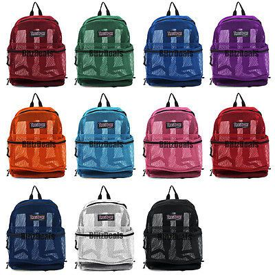 17 Best images about mesh backpacks/book bags on Pinterest | High ...