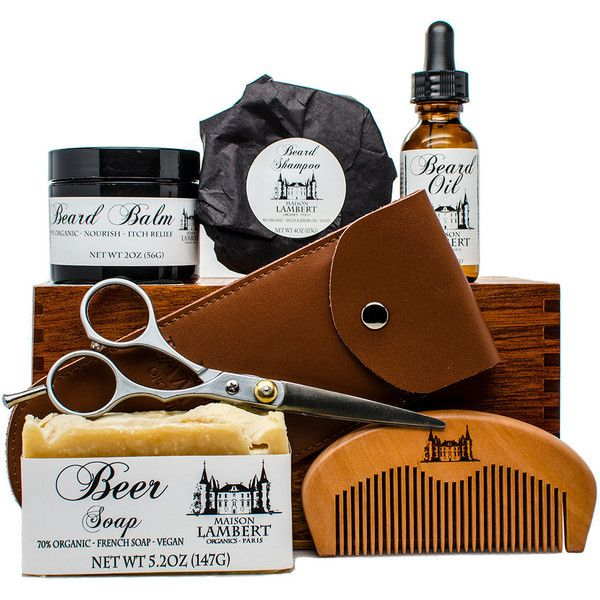 Ultimate Beard grooming Kit (€67) ❤ liked on Polyvore featuring beauty products