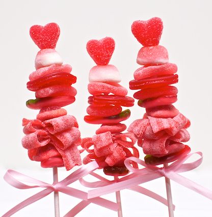 Valentine's Day!! Candy Kabob's