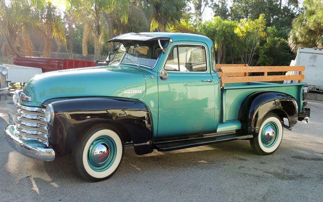 Car of the Week: 1952 Chevrolet 3100 pickup - Old Cars Weekly