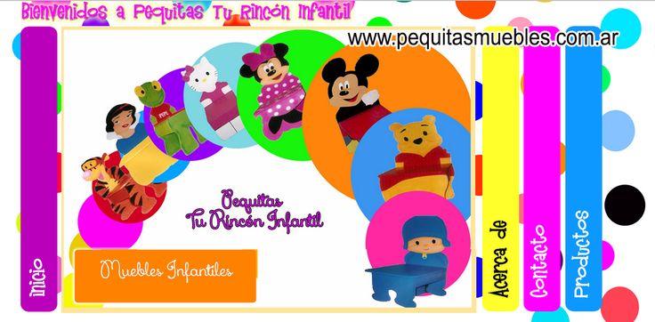 Diseño de sitio www.pequitasmuebles.com.ar Muebles infantiles