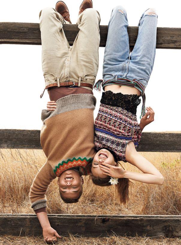 Teen Vogue December 2014 | Kristine Froseth & Rafferty Law by Giampaolo Sgura [Editorial]
