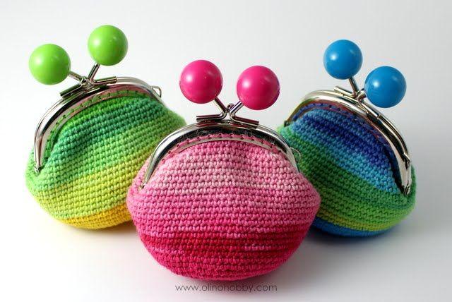 OlinoHobby: crochet purses