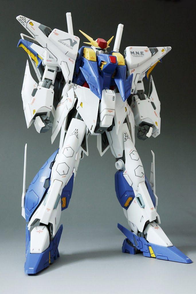 Robot Damashii Ka Signature Xi Gundam - Panel Lined & Decal Applied