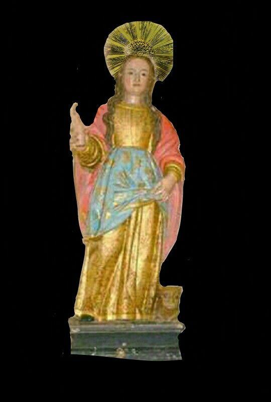 Santa Tecla Iconio  Parroquia Inmaculada Concepción de Santa Tecla, el Salvador.