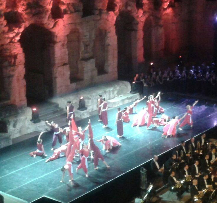 August at the Herodion, Athens