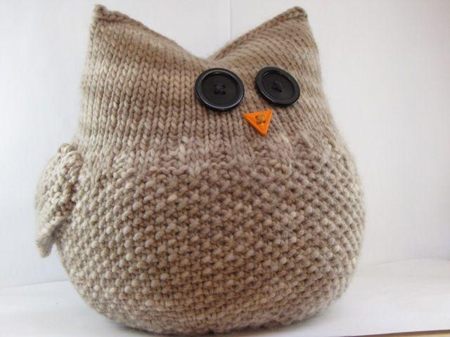 Knitting an Owl - Natural Suburbia The Guardian Owl