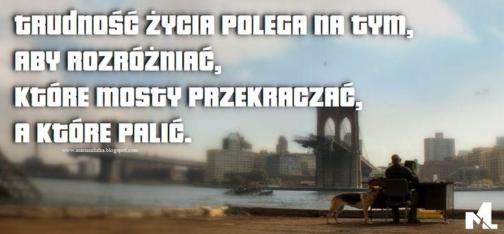 MariuszLutka: Życie znaczy dużo więcej.