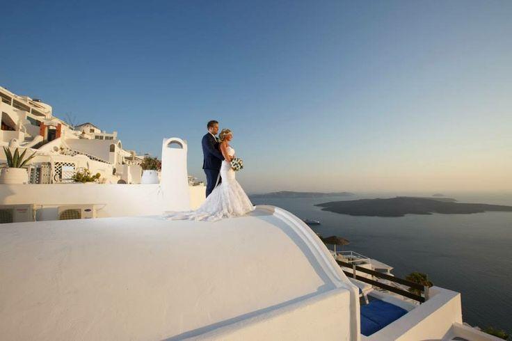 Dana villas weddings santorini photography by kosta savva