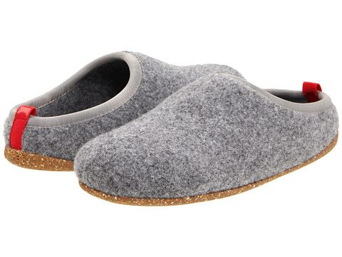 Camper Wabi 20889 Slippers Light Grey Fabric - Things For Women