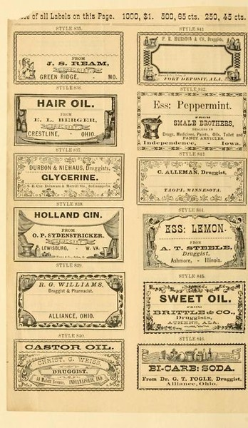 Vintage labels printable...to go with the homemade lotion bars I pinned earlier.