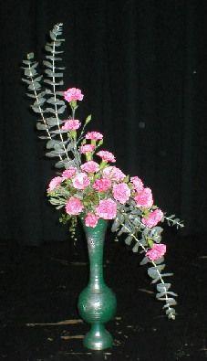 hogarth curve floral arrangement - Google Search