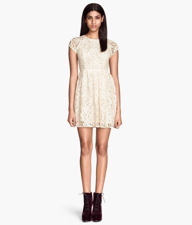 H m lace dress £29 99 logo