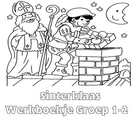 Sinterklaas Werkboekje Groep 1-2