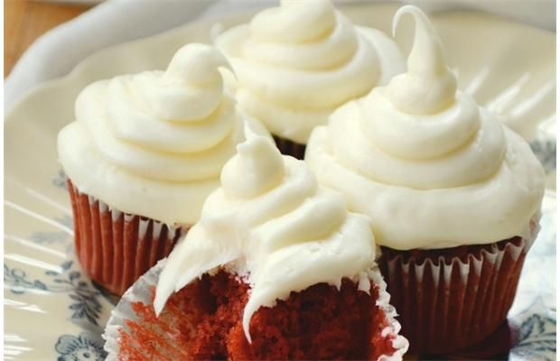 The Queen of Tarts Red Velvet Cupcakes is part of the new cookbook, Alice Eats.