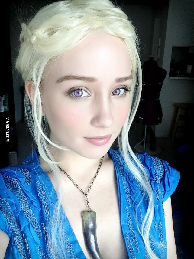 epic dany cosplay cosplay daenerys targaryen and costumes. Black Bedroom Furniture Sets. Home Design Ideas