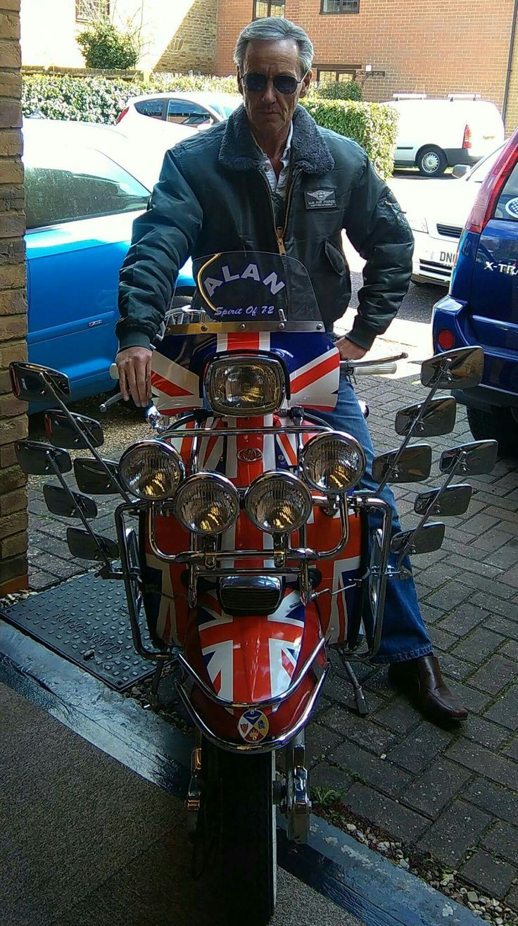 Union Jack scooter