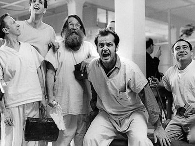 One Flew Over The Cuckoo´s Nest (1975) with Jack Nicholson, Louise Fletcher, Danny DeVito