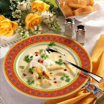 Feine Kartoffel-Spargel-Suppe Rezept