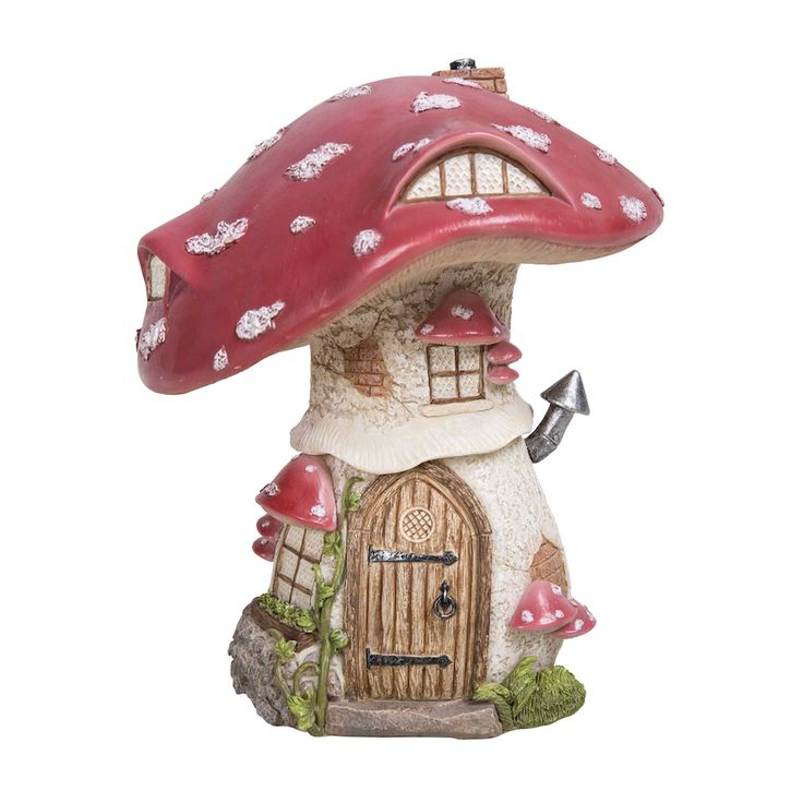 Traditional Red Toadstool Cottage (Large)