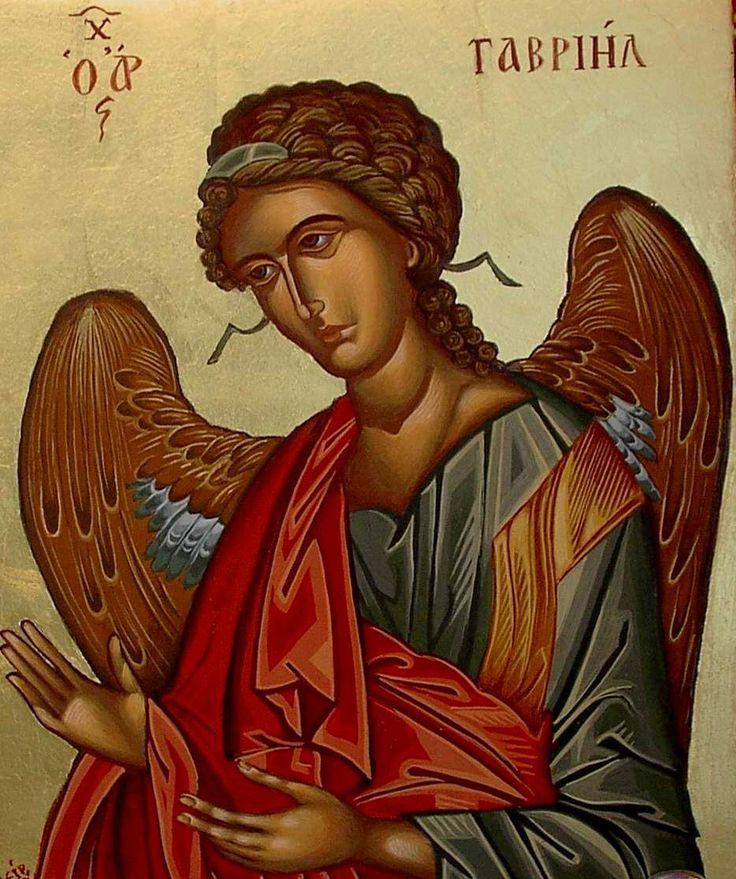 Αρχάγγελος Γαβριήλ,  Gabriel (Athina Alexopoulou Pappa)
