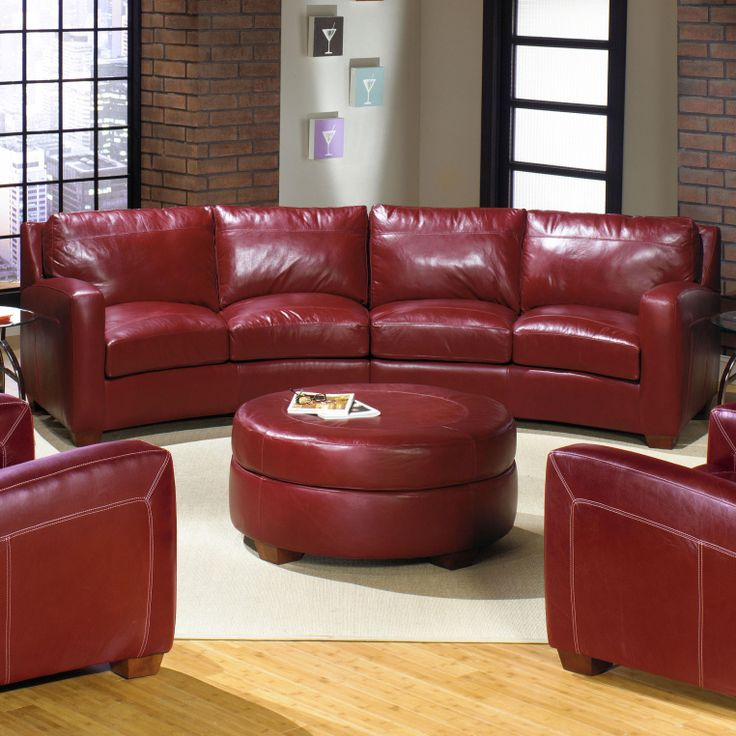 2950 2 Piece Leather Sectional Sofa By USA Premium Leather | Wolf Furniture  | Furniture | Pinterest | Leather Sectional Sofas, Leather Sectional And ...