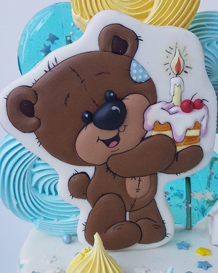 Картинки мишек на торт