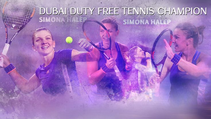 Simona Halep - Dubai Duty Free Tennis Champion https://www.facebook.com/BiancaCaleaPhotography