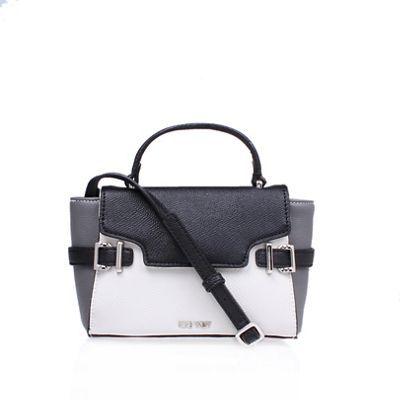 Nine West White 'Clean Living Cutie' satchel handbag with shoulder straps | Debenhams
