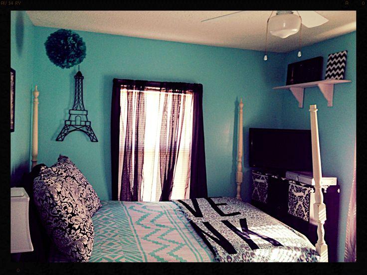 Tiffany Blue Bedroom!