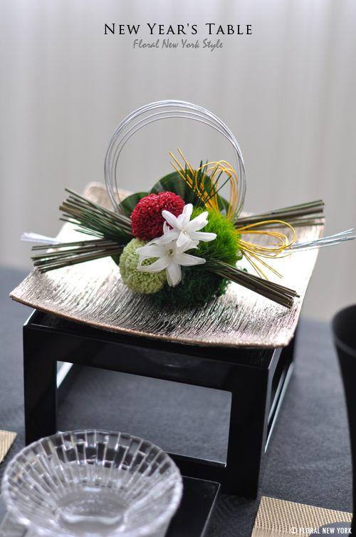 chikako『お正月のテーブルコーディネート【六本…』