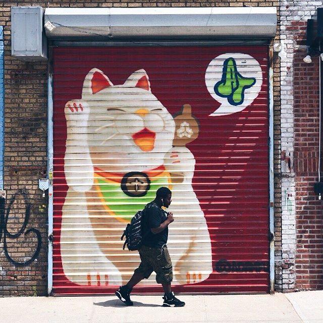 #bushwick #streetart #brooklyn #newyorkcity
