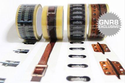 X Tape: Una forma muy peculiar y estilosa de cerrar las cajas de cartón...