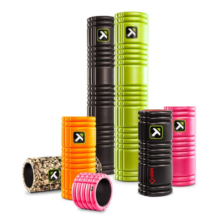 Trigger Point GRID Foam Rollers for relief of muscle knots and pain.Patented foam roller design offers a superior, multi-density exterior constructed over a rigid, hollow core Constructed from quality materials that won't break down or lose shape from repeated use TriggerPoint Trusted foam roller of physical and massage therapists, coaches, trainers and athletes provides muscle recovery, pain relief and improved flexibility