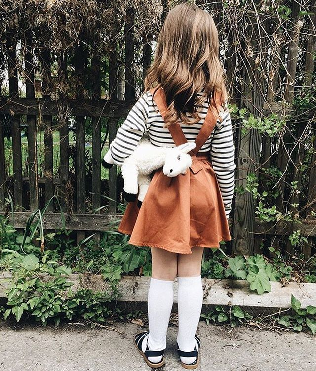 Fin & Vince Venice skirt in vintage rust @mamont07 + mabo kids