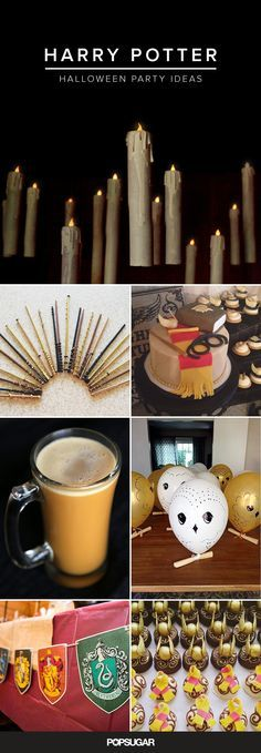 How to have magical Halloween party inspired by Harry Potter