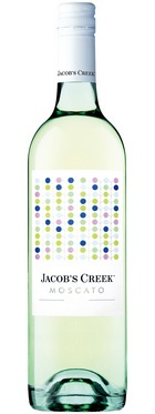 Jacob's Creek- Moscato White. A sparkling moscato displaying delicate summer fruit flavours and a light fresh taste. Pairs with spicy seafood dishes or a fruit platter.