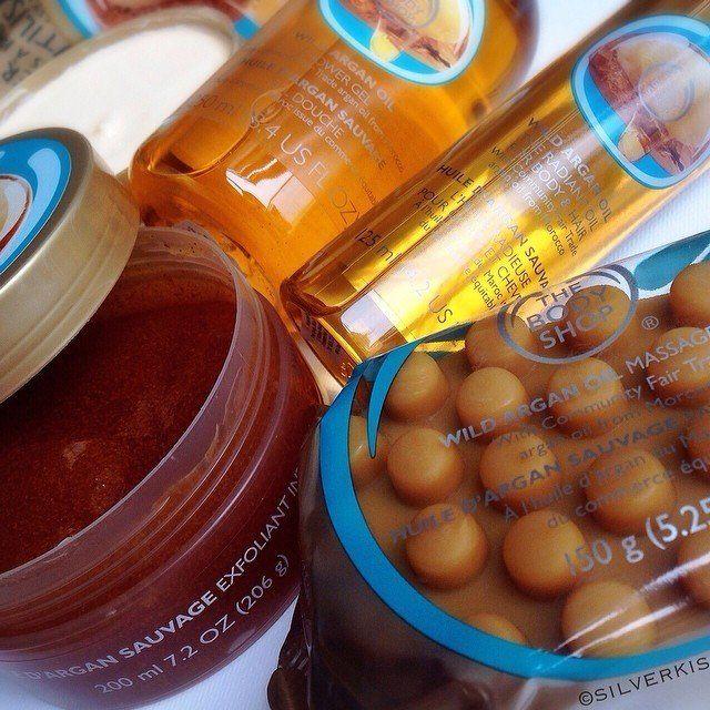 The Body Shop's Argan Oil