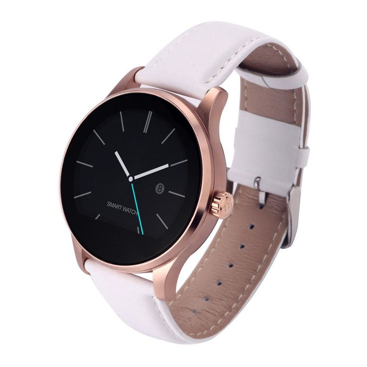 2016 new K88H Smart Watch With 1.22 Inch IPS Round Screen Support Anti-lost Heart Rate Monitor Bluetooth Watch For IOS Android