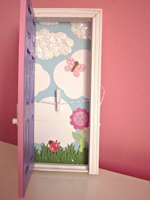 Fairy Door Ideas magical hand painted pink fairy tooth fairy door A Tooth Fairy Door You Can Put Next To The Bed Put The Tooth In