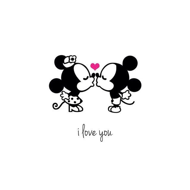 Just like Mickey and Minnie #disney