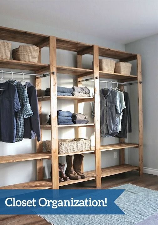With spring-cleaning in full swing, now is the time to organize your closet! Follow this tutorial to create the space you've always dreamed of.
