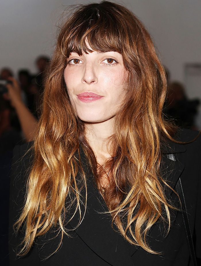 The Go-To Hairstyle All French Women Love | Lou doillon ...