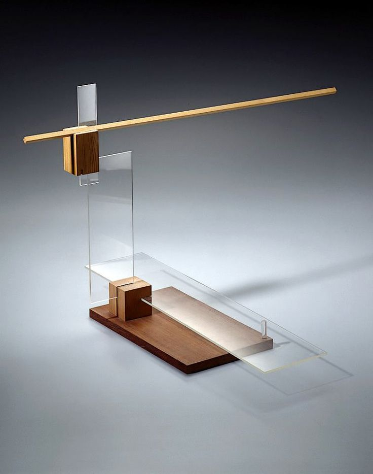Balance study from l szl moholy nagy s preliminary course for Bauhaus replica