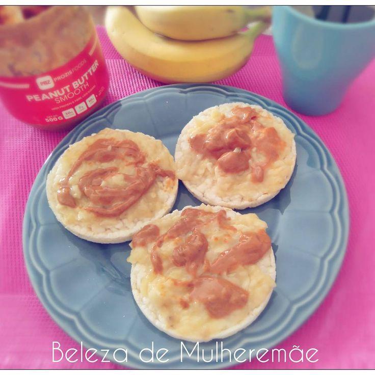 "95 Gostos, 4 Comentários - Beleza de Mulheremãe (@cristinaparadela) no Instagram: ""Nothing like banana&peanutbutter 👌#pequenoalmoco #breakfast #food #healthyfood #healthy…"""
