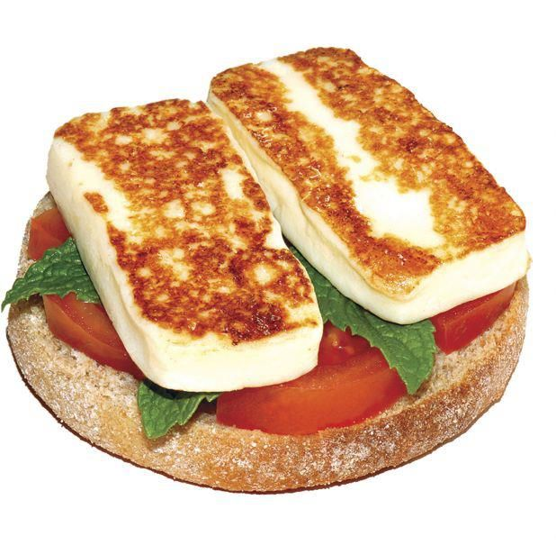Yanni Grilling Cheese. It's said to be amazingly tasty - https://www.karouncheese.com/product/grilling-cheeseGrilled Food